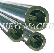Ground Polished Chrome Plated Hollow Steel Pipe Bar , Cold Drawn